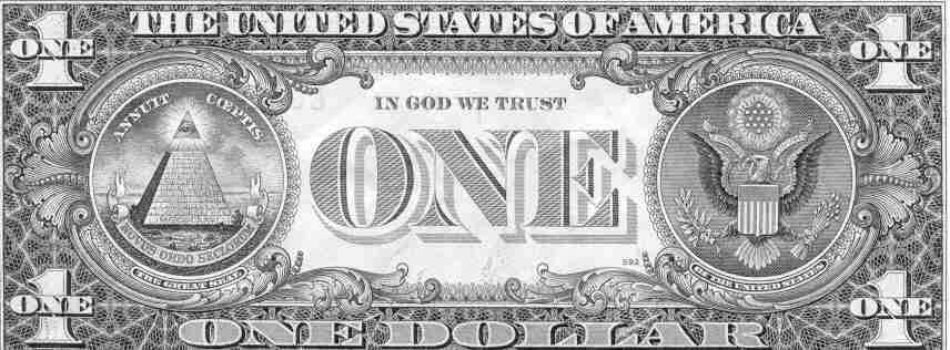 1$bill İlluminatinin Gizli Sembolleri II