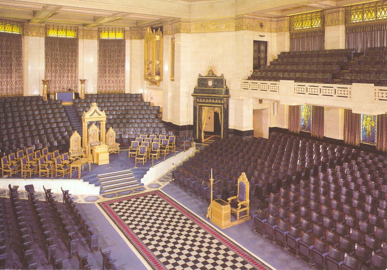 FreemasonsHall London İlluminatinin Gizli Sembolleri II